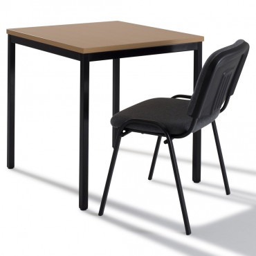 Table carrée modulable 70x70 cm