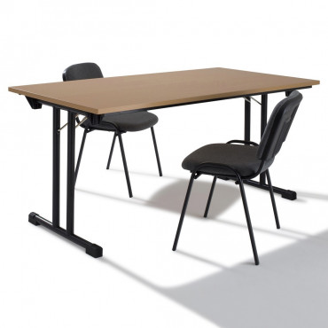 Table modulable pliante
