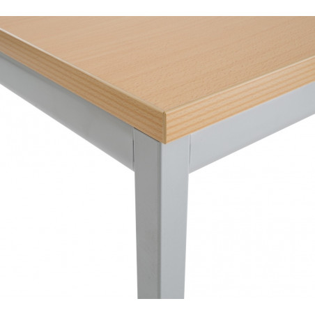 Table modulable rectangulaire